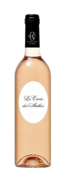 Photo La Cuvée des Mathes - rosé